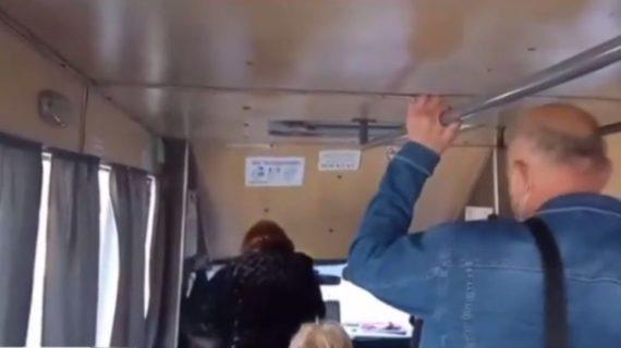 В Керчи пожилая пассажирка расцарапала лицо водителю