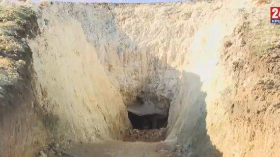 Как в Крыму готовят к открытию пещеру «Таврида»
