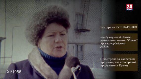 Голос эпохи. Выпуск № 105. Екатерина Кушнаренко