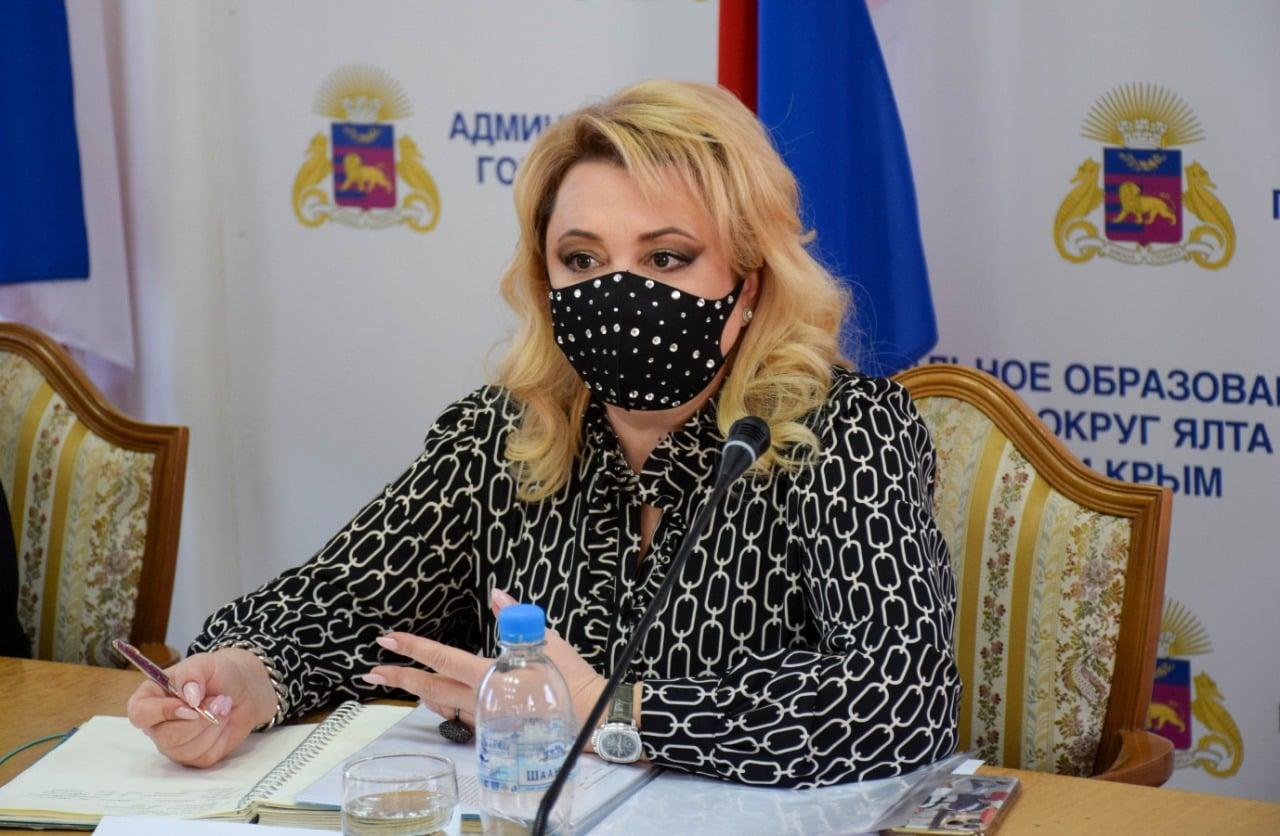 Глава Ялты попросила  руководство ФМБА увеличить коечный фонд для больных COVID-19