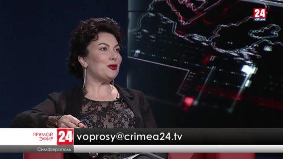 Пресс-конференция министра культуры РК Арины Новосельской