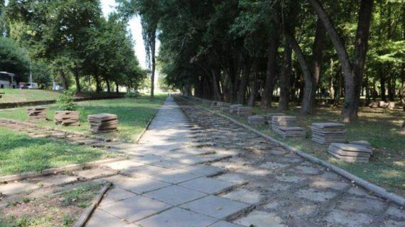 Реконструкцию симферопольского сквера возле ДКП ускорят