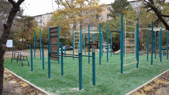 В Симферополе до конца года появятся 7 спортплощадок