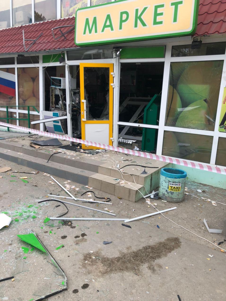 В Коктебеле неизвестные взорвали банкомат