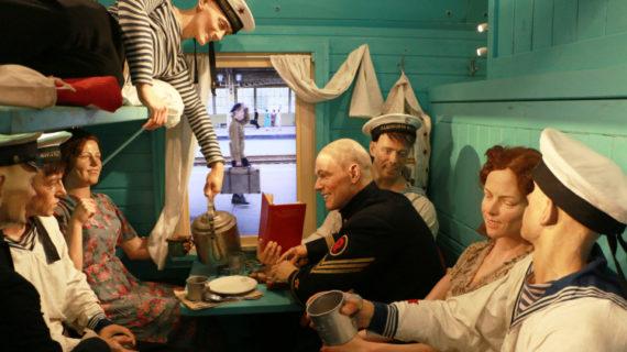 В Севастополе разрешили посетить «Поезд Победы» только студентам и школьникам