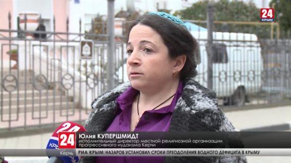 В Керчи вспоминают жертв массового расстрела в Багеровском рву