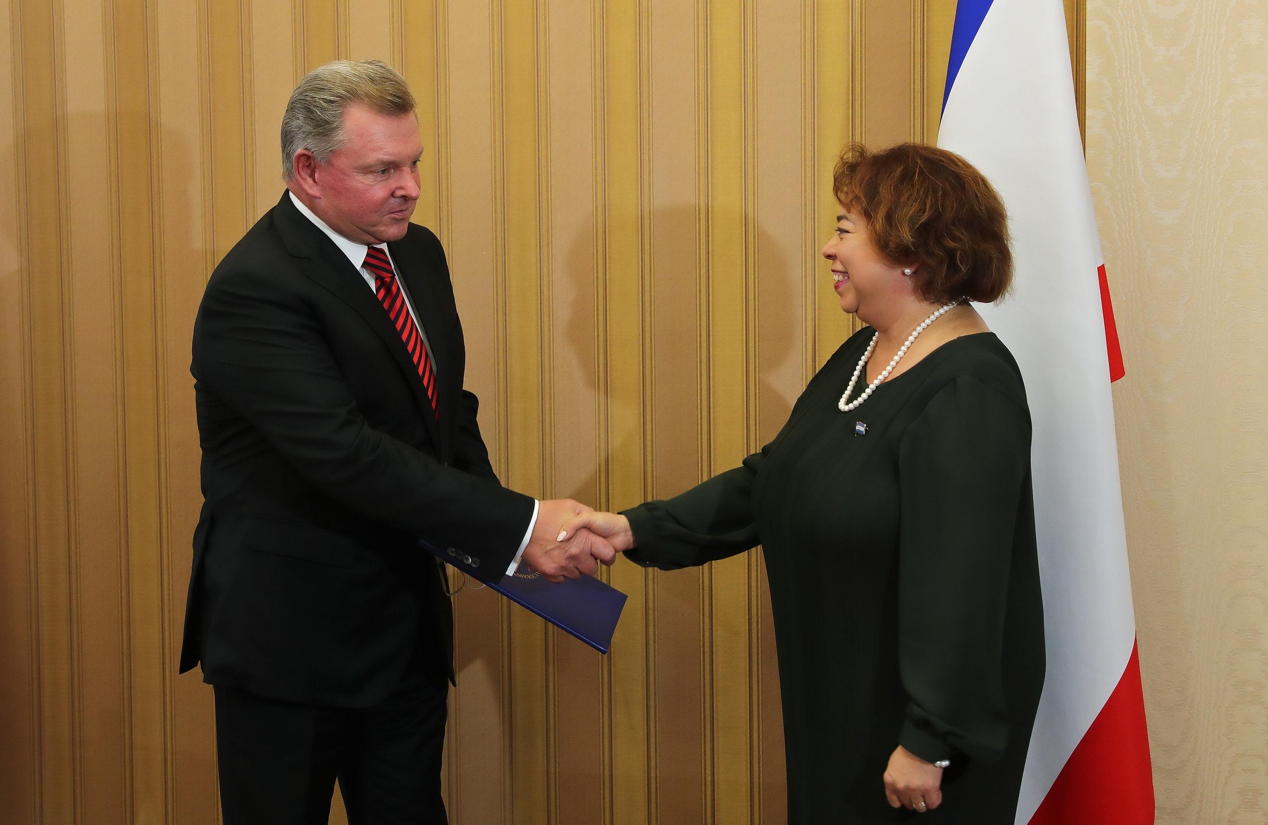 Олег Белавенцев стал почётным консулом Республики Никарагуа в Крыму