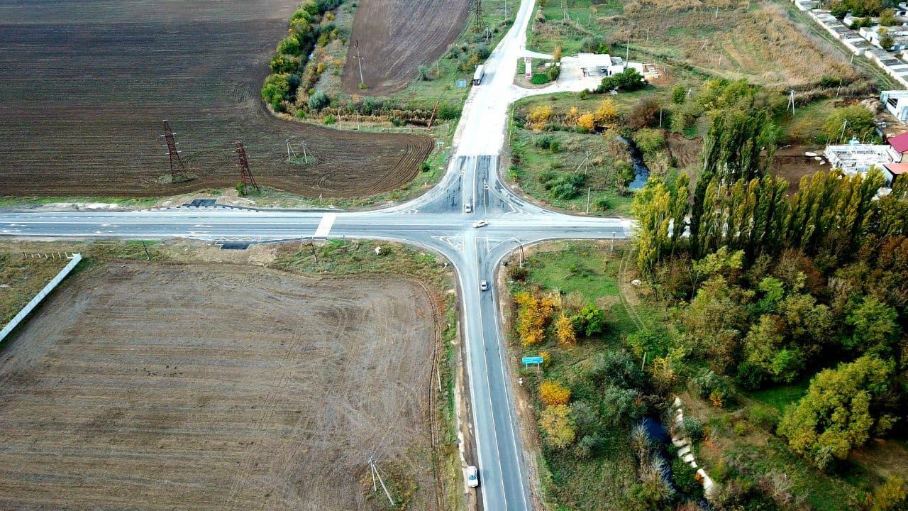 В Крыму ремонт дороги Нижнегорский – Белогорск закончили на месяц раньше