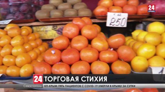 Севастополь заполонили нелегальные рынки