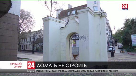 В Керчи охраняют памятники от вандалов