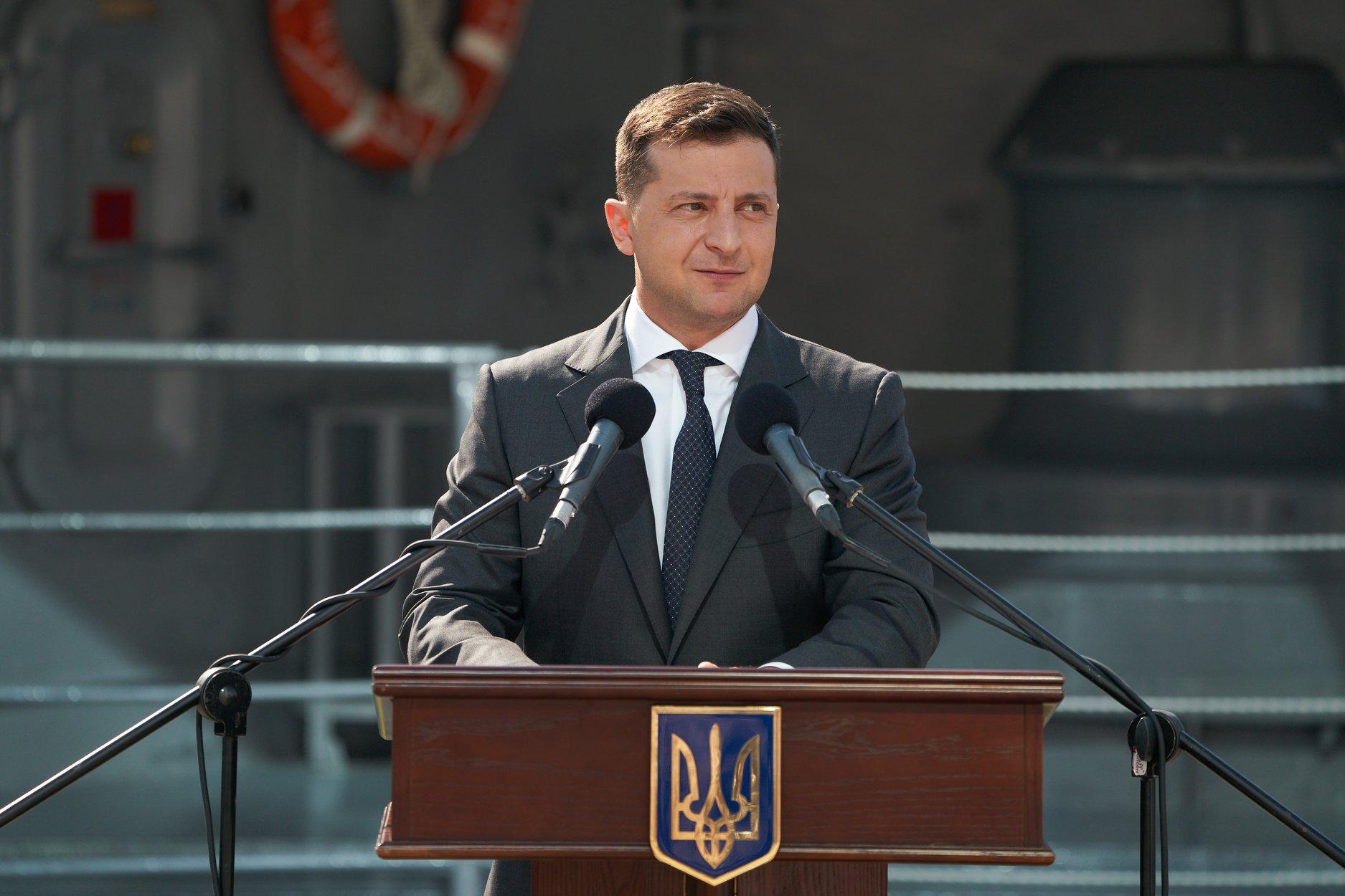 Зеленский снова заговорил о «возвращении Крыма»