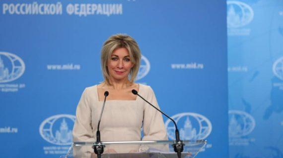 «Заявление из преисподней»: Захарова прокомментировала слова главы МИД Украины о Крыме