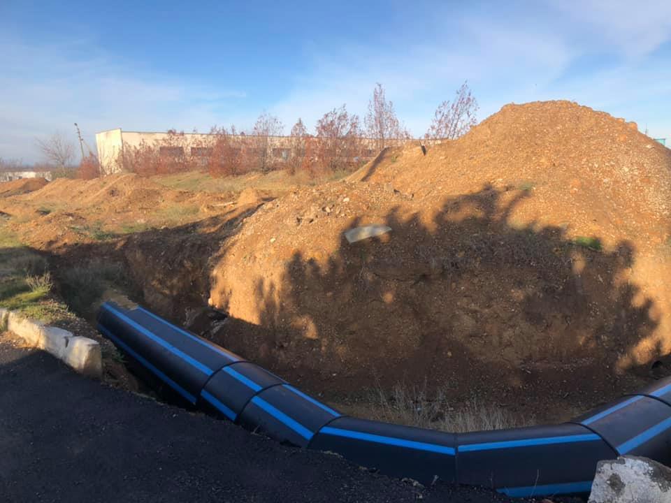 Водовод для снабжения  Симферополя отремонтируют в первой половине 2021 года