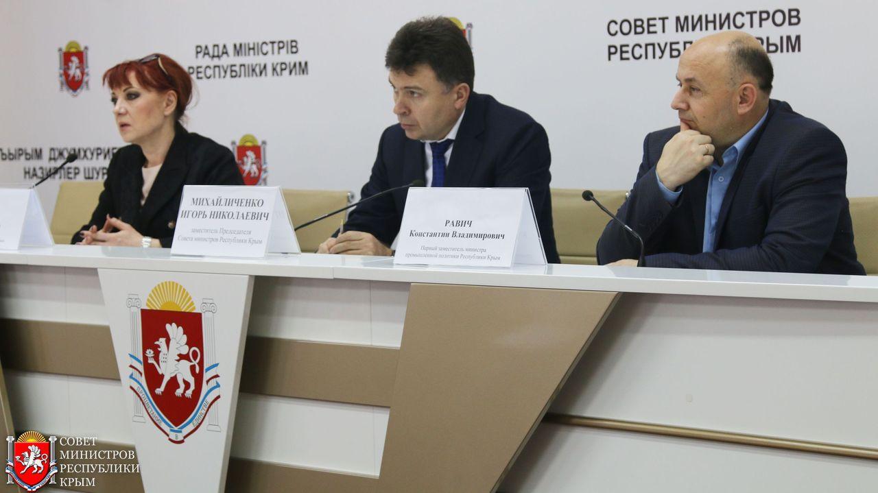 Исполнять обязанности  председателя Совета министров Крыма до 30 декабря будет Игорь Михайличенко