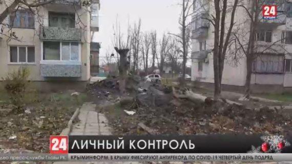 Глава Крыма отправился рейд по стройкам республики