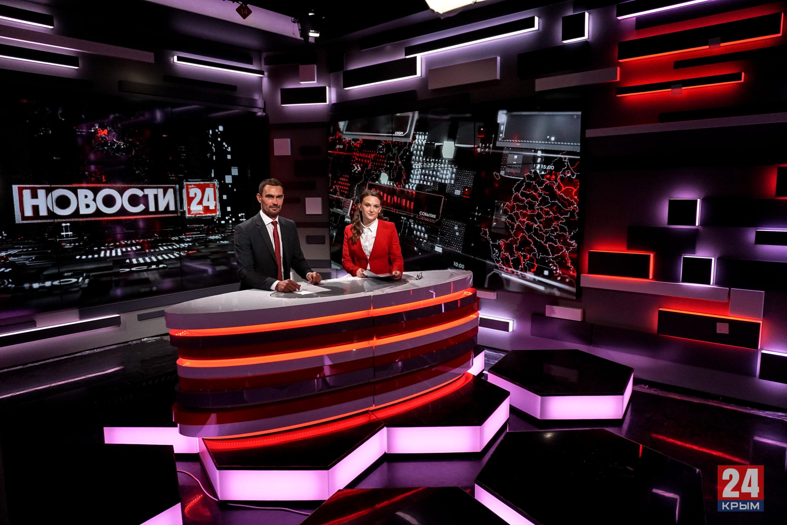 Аксёнов поздравил коллектив телеканала «Крым 24» с 5-летием с начала вещания