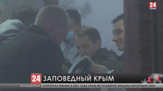 Министр природных ресурсов и экологии России  в ходе визита в Крым, пообещал решить ряд проблем на полуострове