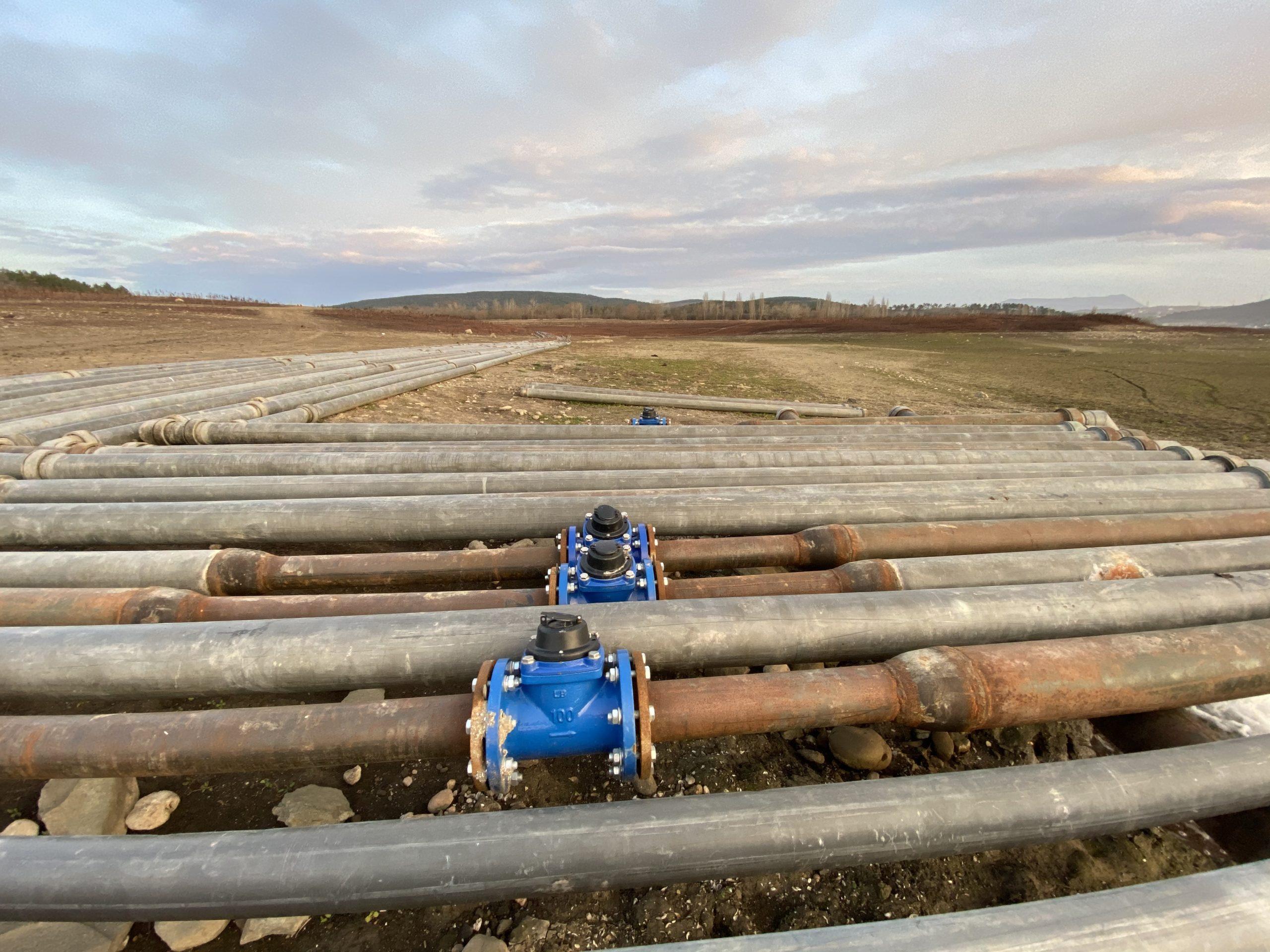 В Крыму отремонтируют и модернизируют почти 200 километров сетей водоснабжения