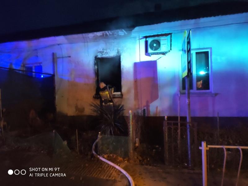 В Симферополе при пожаре в жилом доме погиб человек