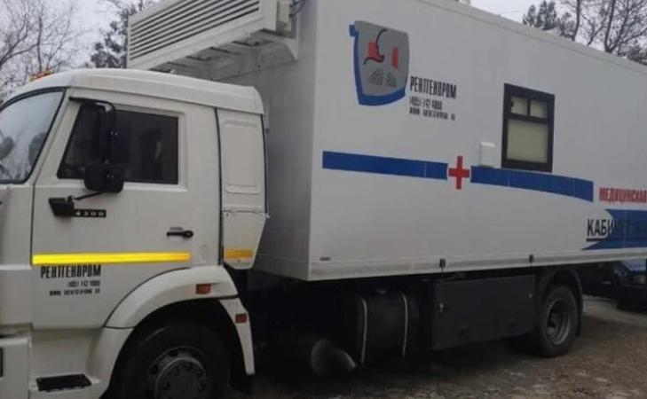 Десять передвижных медкомплексов закупили для Крыма