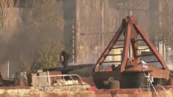 В Севастополе возбудили административное дело в отношении организации, которая допустила разлив нефти в море