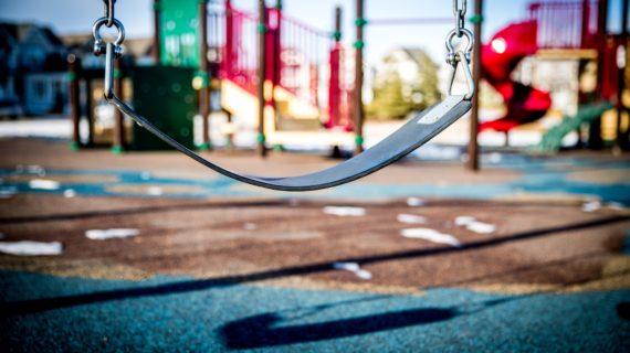 В Алуште проходит реконструкция детских площадок