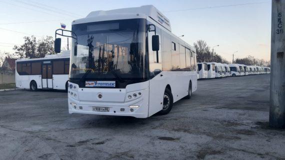 В Симферополе пять новых автобусов выйдут на один из маршрутов