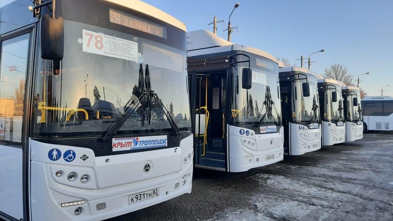Для «Крымтроллейбуса» в этом году закупят ещё 300 новых автобусов