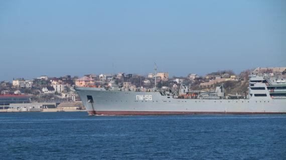 В Керчи строят вертолётоносец, который станет флагманом Черноморского флота