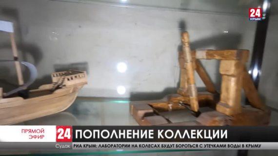 Музей-заповедник «Судакская крепость» пополнился экспонатами «Черноморского центра подводных исследований»