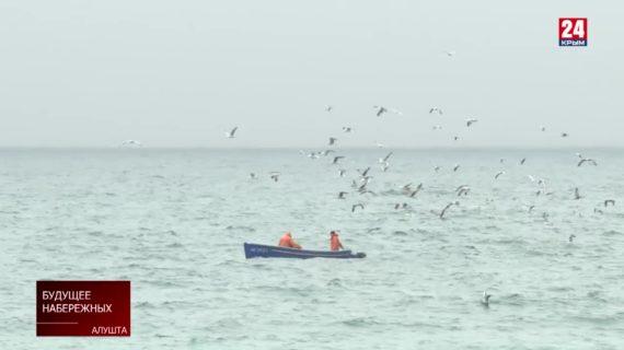 Стихия вмешалась в планы благоустройства береговых линий