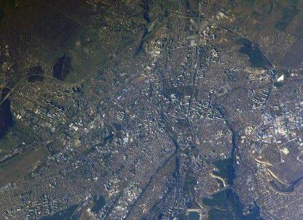 Космонавт показал вид сегодняшнего Симферополя с орбиты