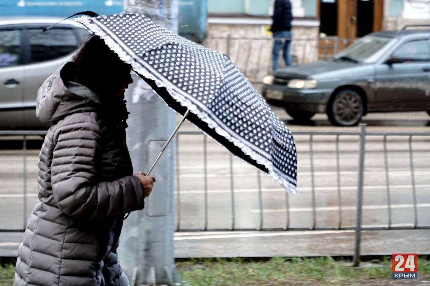 Дождь, снег, гололедица: В Крыму объявили штормовое предупреждение