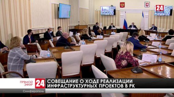 Совещание по строительной отрасли Республики Крым от 25.02.21