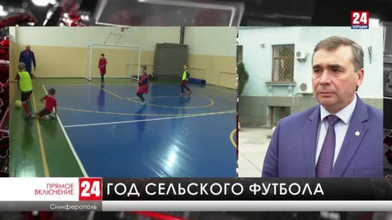 Больше 130 сельских футбольных команд в Крыму получат новую спортивную форму