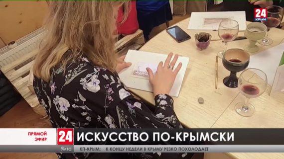 Популяризировать полуостров. Как крымские мастера создают уникальные творческие техники?