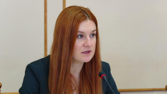 Мария Бутина призвала бороться за права крымских чиновников, которых преследует Украина