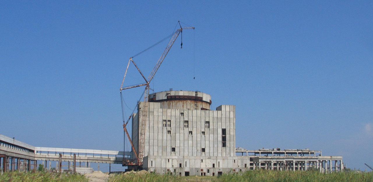 В Крыму снесут недостроенную атомную электростанцию