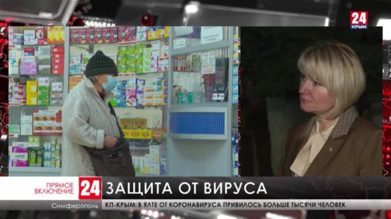 Крымчане стали чаще не соблюдать меры предосторожности от COVID-19