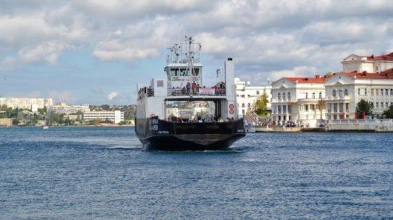 В Севастополе прекратили работу паром и катера из-за непогоды