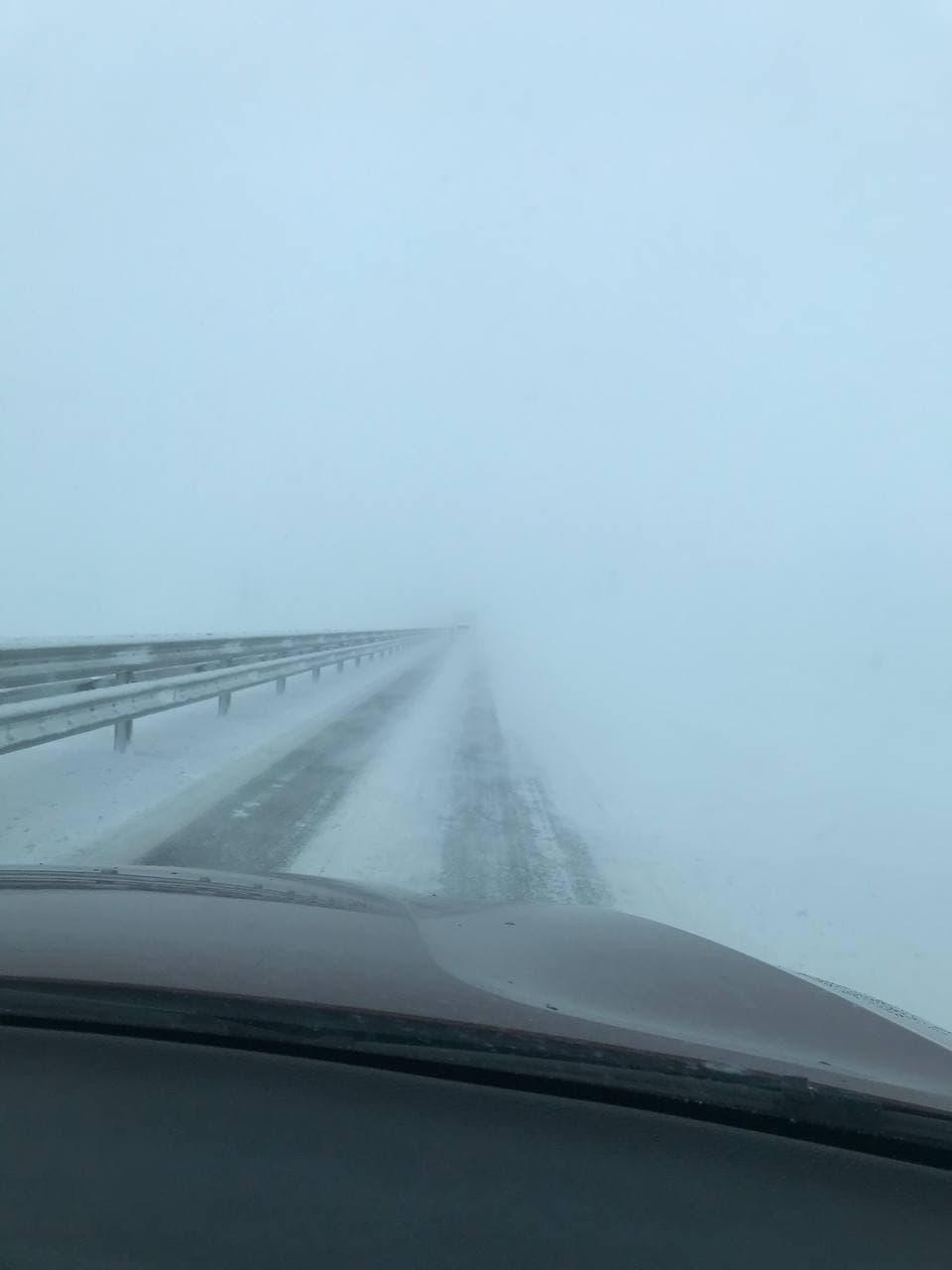 Трасса «Таврида» и Крымский мост 19 февраля 2021: какая сейчас ситуация на дороге? Фото, видео (обновляется)