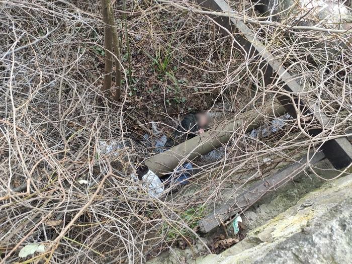 В Партените мужчина упал в реку с трёх метров и травмировался