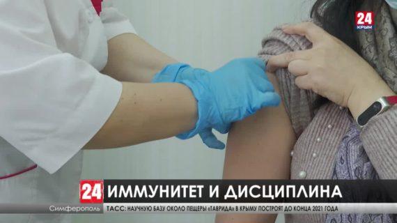 Заболеваемость коронавирусом в Крыму снижается