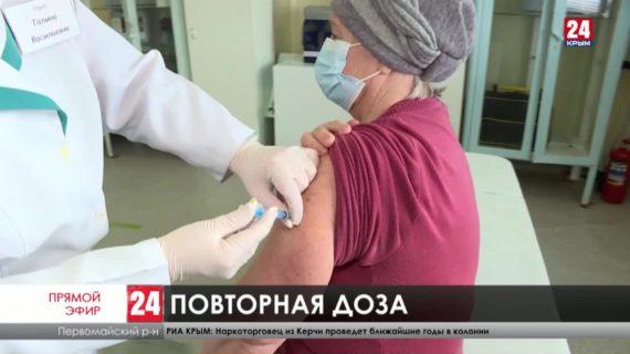 В сёлах Первомайского района более ста человек пришли на повторную прививку от коронавируса