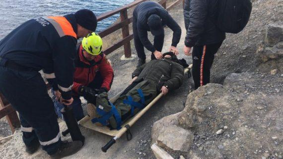 В Судаке женщина травмировалась на тропе Голицына