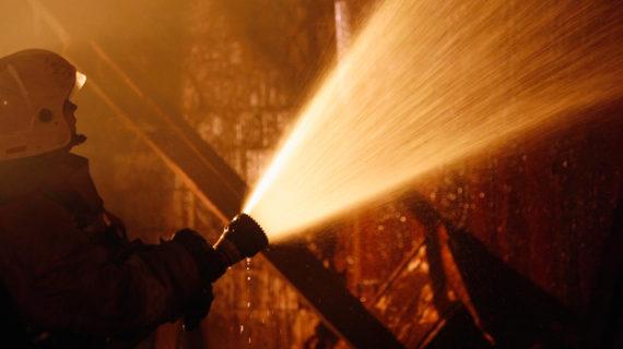 В Красногвардейском районе при пожаре в доме погиб мужчина