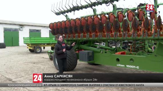 Сколько сельхозтехники приобрели аграрии Крыма за семь лет?