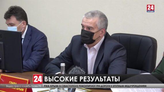 Глава Республики отметил хорошую работу военных комиссаров Крыма во время призывной кампании
