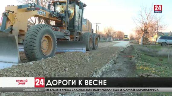 Сколько километров асфальта проложат в этом году в Советском районе?