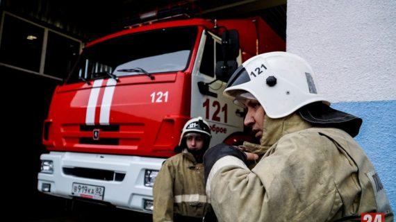 Крупный пожар произошёл на одной из улиц Ялты: Пострадали 11 человек